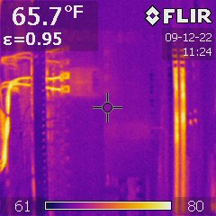 Infrared electrcial inspection